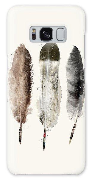 Native American Galaxy Case - Native Feathers by Bri Buckley