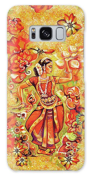 Galaxy Case featuring the painting Ganges Flower by Eva Campbell