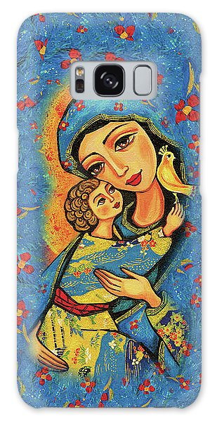 Galaxy Case featuring the painting Mother Temple by Eva Campbell