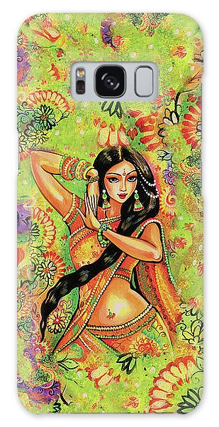 Galaxy Case featuring the painting Dancing Nithya by Eva Campbell