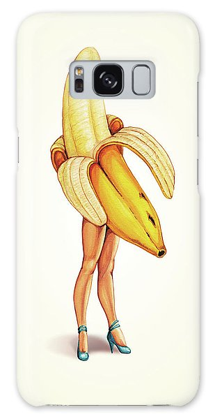 Food Galaxy Case - Fruit Stand - Banana by Kelly Gilleran