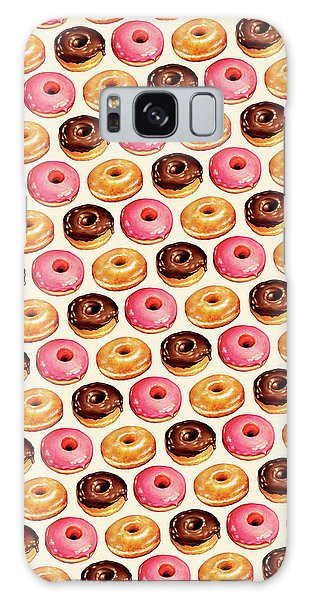 Food Galaxy Case - Donut Pattern by Kelly Gilleran