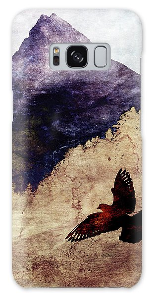 Fly High Galaxy Case by AugenWerk Susann Serfezi