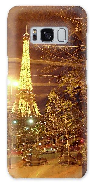 Eiffel Tower By Bus Tour Galaxy Case