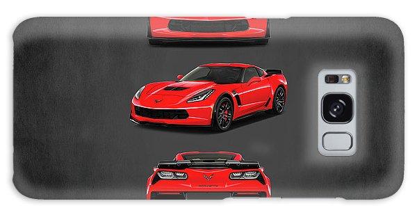 Sports Car Galaxy Case - The Corvette Z06 by Mark Rogan