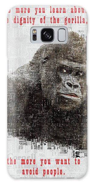 The Dignity Of A Gorilla Galaxy Case