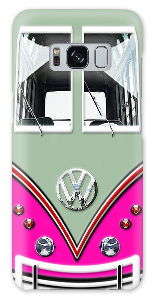 Patina Galaxy Case - Pink Vw Volkswagen Minibus by Nurmala Dewi