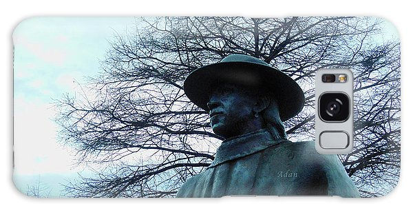 Austin Hike And Bike Trail - Iconic Austin Statue Stevie Ray Vaughn - Two Galaxy Case
