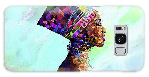 Egypt Galaxy Case - Queen Nefertiti by Anthony Mwangi