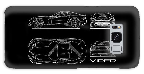 Viper Blueprint Galaxy Case by Mark Rogan