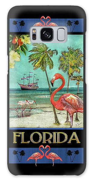 Galaxy Case featuring the photograph Florida Advertisement by Hanny Heim