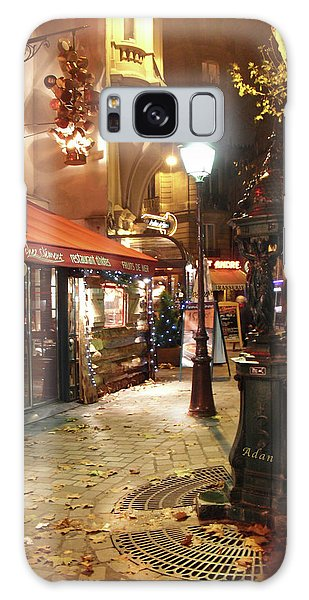 Place St Michel To Rue Saint-andre Des Arts Galaxy Case