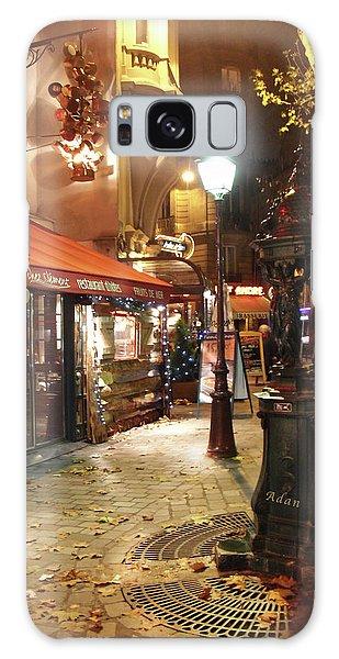 Place St Michel To Rue Saint-andre Des Arts Galaxy Case by Felipe Adan Lerma