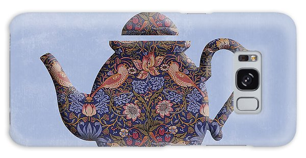 The Strawberry Thief Pattern Teapot Galaxy Case