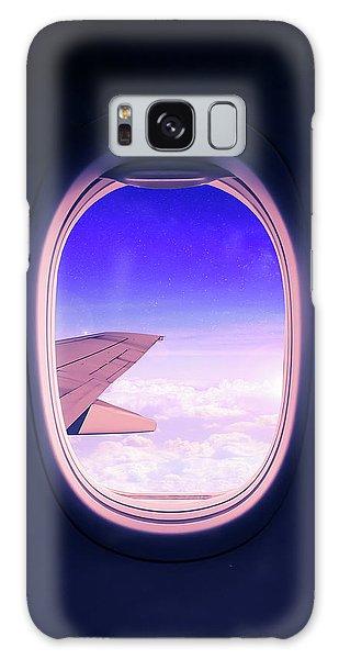 Window Galaxy Case - Travel The World by Nicklas Gustafsson