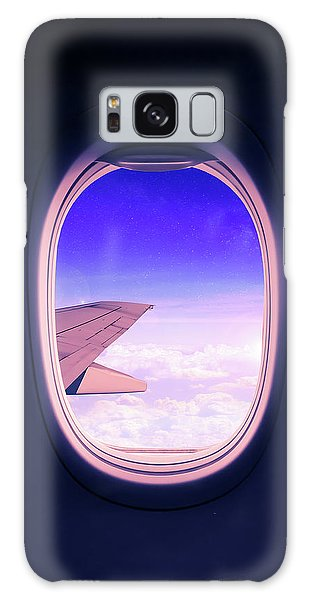 Airplane Galaxy Case - Travel The World by Nicklas Gustafsson