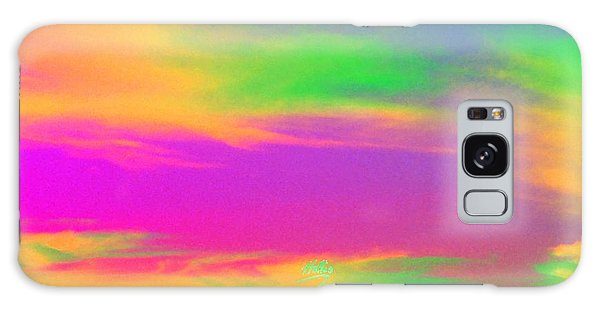 Painted Sky - Abstract Galaxy Case by Linda Hollis