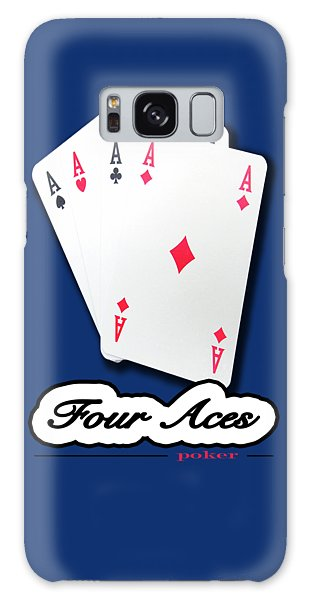 Poker Of Aces - Four Aces Galaxy Case