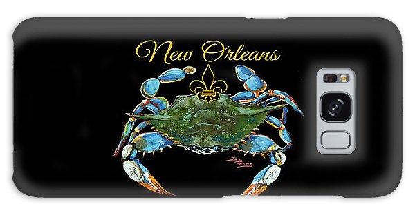 Louisiana Blue On Red Galaxy Case
