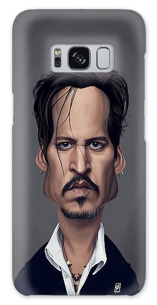Celebrity Sunday - Johnny Depp Galaxy Case
