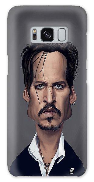 Celebrity Sunday - Johnny Depp Galaxy Case