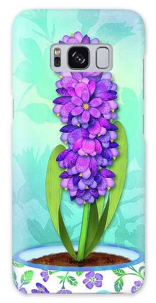 H Is For Hummingbird Galaxy Case