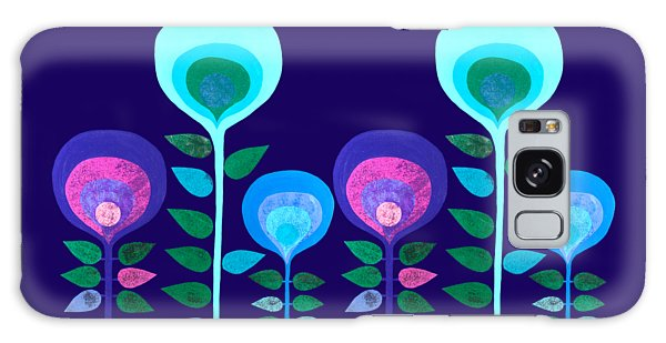 Space Flowers Galaxy Case