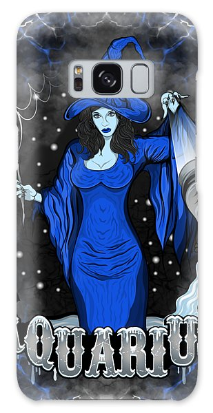 The Water Bearer Aquarius Spirit Galaxy Case