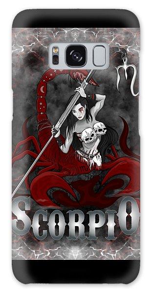 The Scorpion Scorpio Spirit Galaxy Case