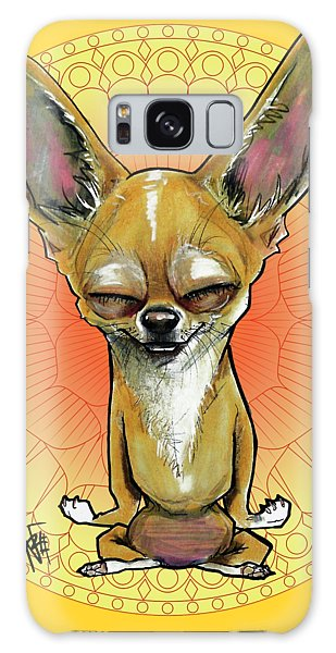 Meditating Chihuahua Galaxy Case