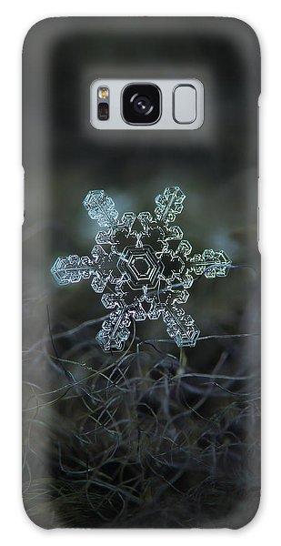 Winter Galaxy Case - Real Snowflake - Slight Asymmetry New by Alexey Kljatov
