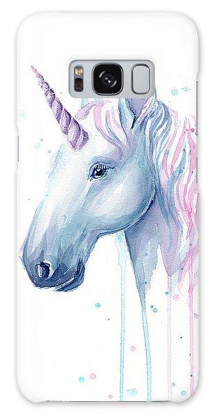 Magician Galaxy S8 Case - Cotton Candy Unicorn by Olga Shvartsur