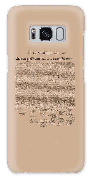 The Declaration Of Independence Galaxy Case