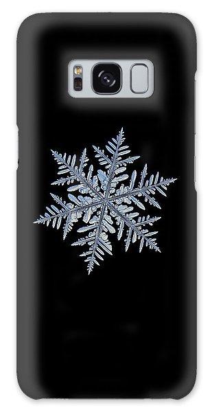 Real Snowflake - Silverware Black Galaxy Case