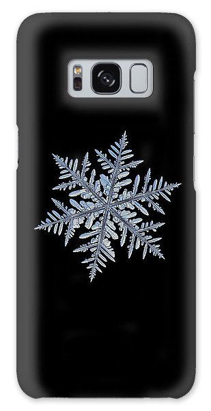 Real Snowflake - Silverware Black Galaxy Case