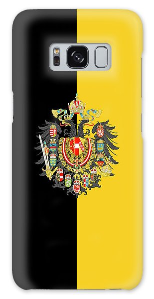 Habsburg Flag With Imperial Coat Of Arms 2 Galaxy Case