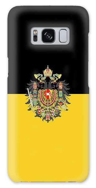 Habsburg Flag With Imperial Coat Of Arms 1 Galaxy Case