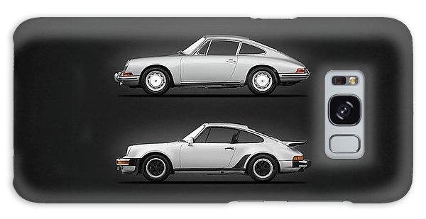 Sports Car Galaxy Case - Evolution Of The 911 by Mark Rogan