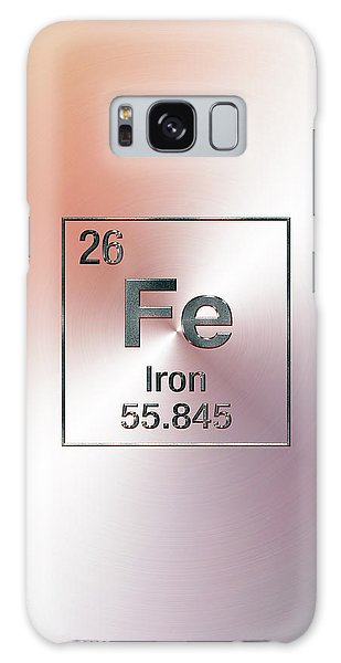 Periodic Table Of Elements - Iron Fe Galaxy Case