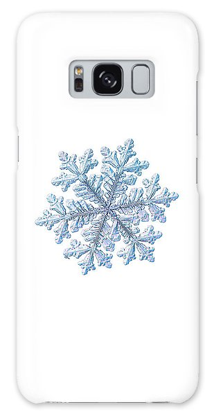 Real Snowflake - Hyperion White Galaxy Case