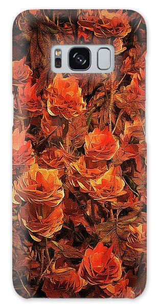 Bronze Roses Galaxy Case
