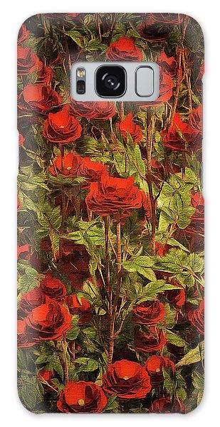 La Sevilliana Roses Galaxy Case