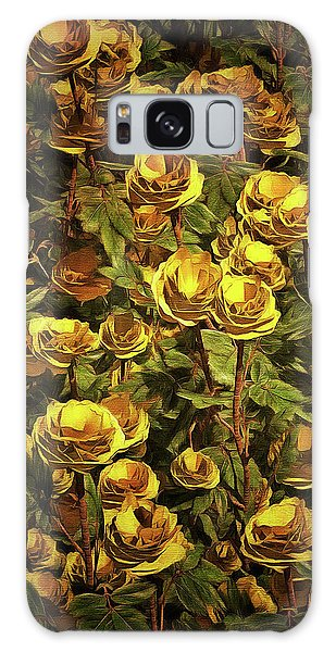Yellow Roses Galaxy Case