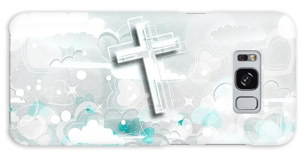 A Heart For Jesus Galaxy Case