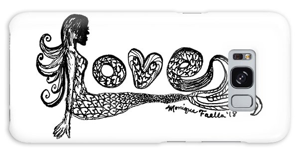 Mermaid Love Galaxy Case