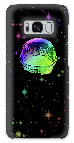 The Sky Galaxy Case - Space Frog by Filip Hellman