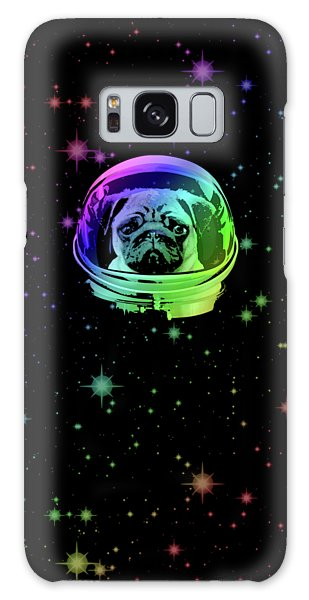 The Sky Galaxy Case - Space Pug by Filip Hellman