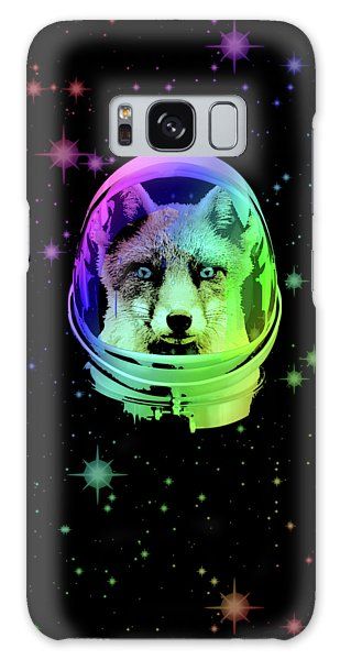 The Sky Galaxy Case - Space Fox by Filip Hellman