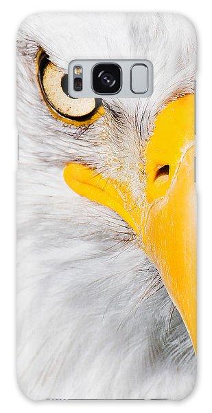 Bald Eagle In Focus Galaxy Case