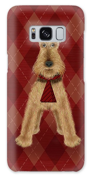 A Is  For Airedale Galaxy Case